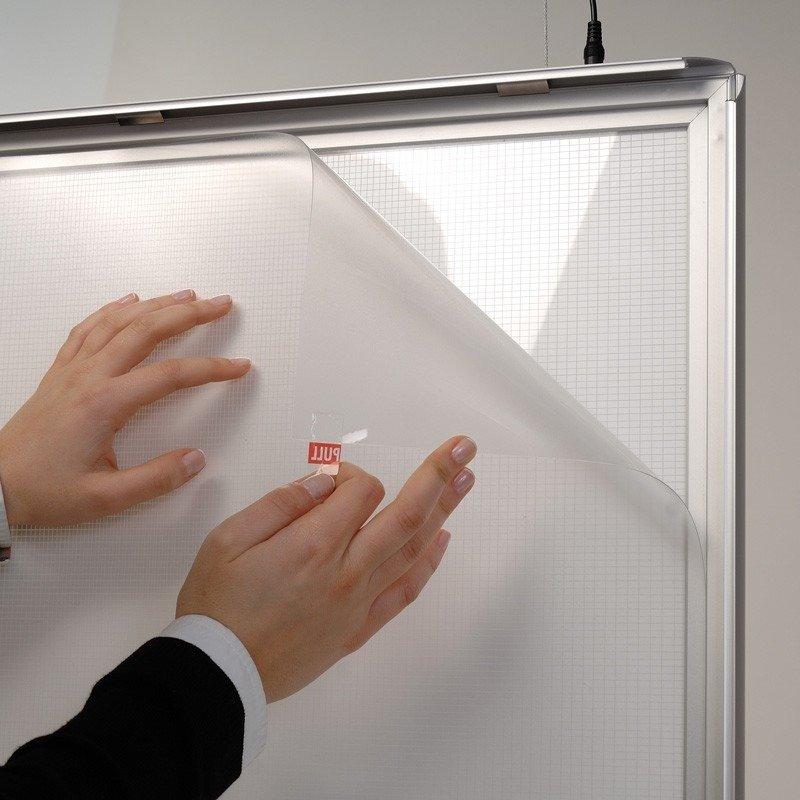 commandez en ligne au meilleur prix vos cadres led double face. Black Bedroom Furniture Sets. Home Design Ideas