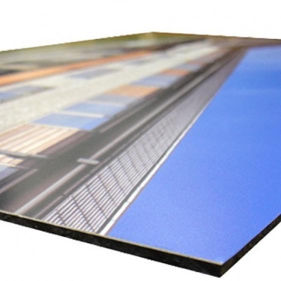 Panneau Dibond - Contrecollage vinyle