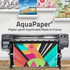 Papier peint intissé Aqua Paper Mat