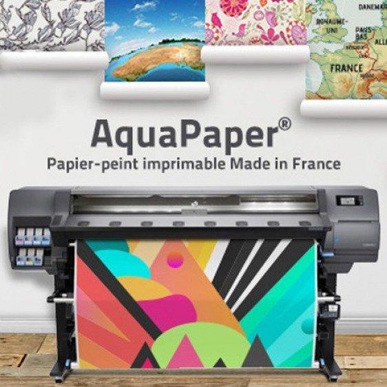 Papier peint Aqua Paper Mat