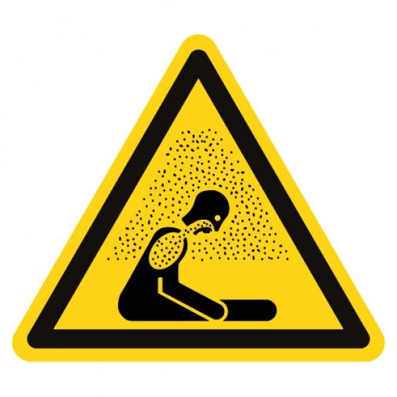 Pictogramme danger risque biologique ISO7010-W009