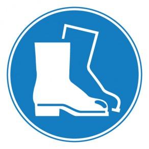 Pictogramme chaussures de sécurité obligatoires ISO7010-M008