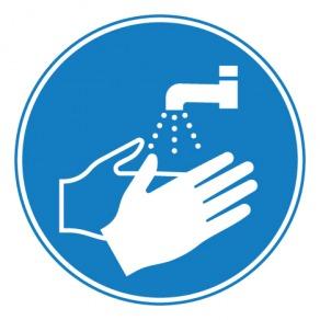 Pictogramme lavage des mains obligatoire ISO7010-M011