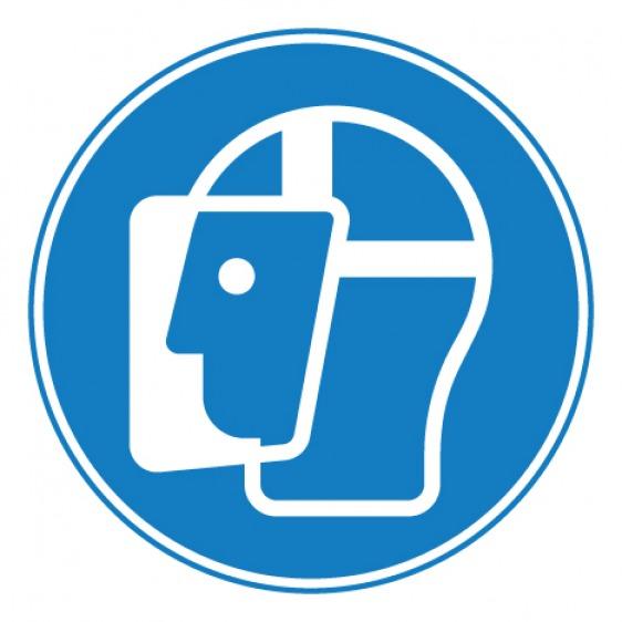 Pictogramme danger rouleaux contrarotatifs ISO7010-W025