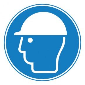 Pictogramme casque de protection obligatoire ISO7010-M014