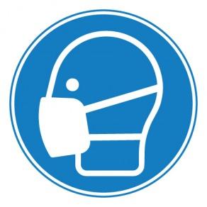 Pictogramme masque obligatoire ISO7010-M016