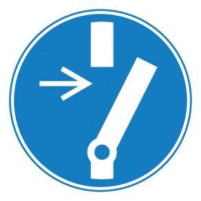 Pictogramme obligation de débrancher avant d'effectuer une activité de maintenance ou une réparation ISO7010-M021