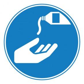 Pictogramme obligation d'utiliser une crème de protection ISO7010-M022