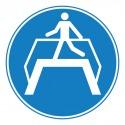 Pictogramme danger bruit fort soudain ISO7010-W038
