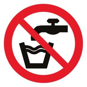 Pictogramme eau non potable ISO7010-P005