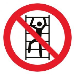 Pictogramme escalade interdite ISO7010-P009