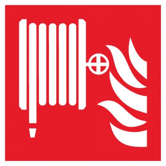 Pictogramme robinet d'incendie armé ISO7010-F002