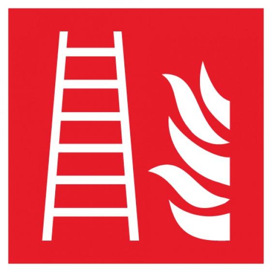 Pictogramme échelle d'incendie ISO7010-F003