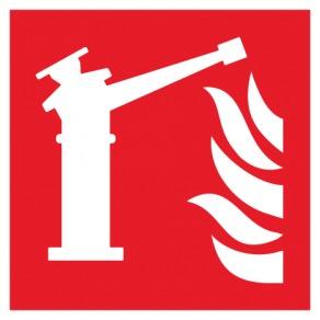 Pictogramme moniteur d'incendie ISO7010-F015