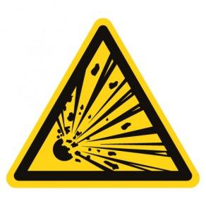 Pictogramme danger matières explosives ISO7010-W002