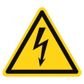 Pictogramme danger éléctricité ISO7010-W012