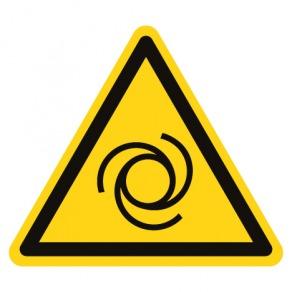Pictogramme danger démarrage automatique ISO7010-W018