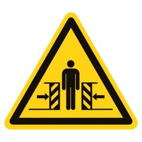 Pictogramme danger écrasement ISO7010-W019