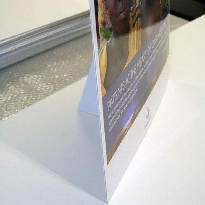 chevalets carton adh sif achat en ligne au meilleur prix. Black Bedroom Furniture Sets. Home Design Ideas