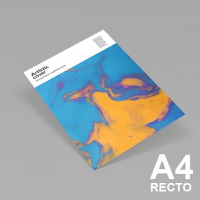 Affiches A4 recto