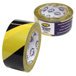 Tape de marquage sol jaune et noir