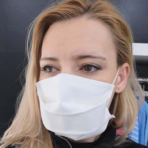 Masque lavable anti goutte et antibactérien Cat. 1