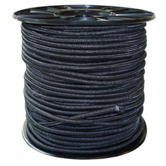 Corde elastique noire
