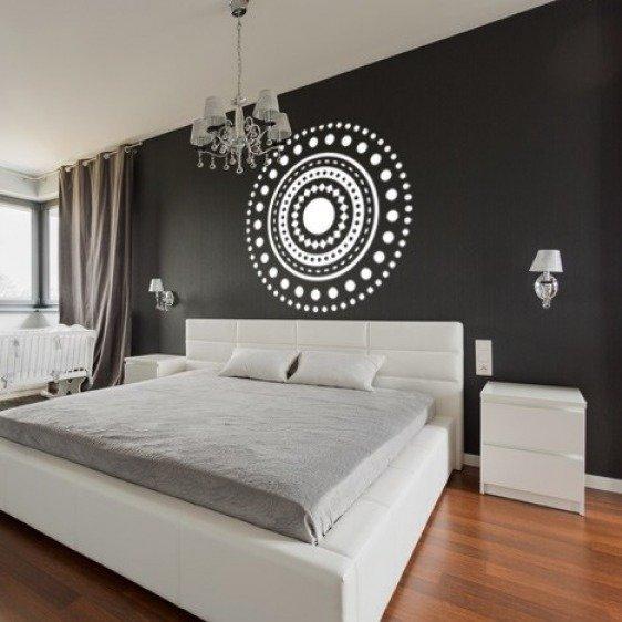 Sticker Mural Rond mandala