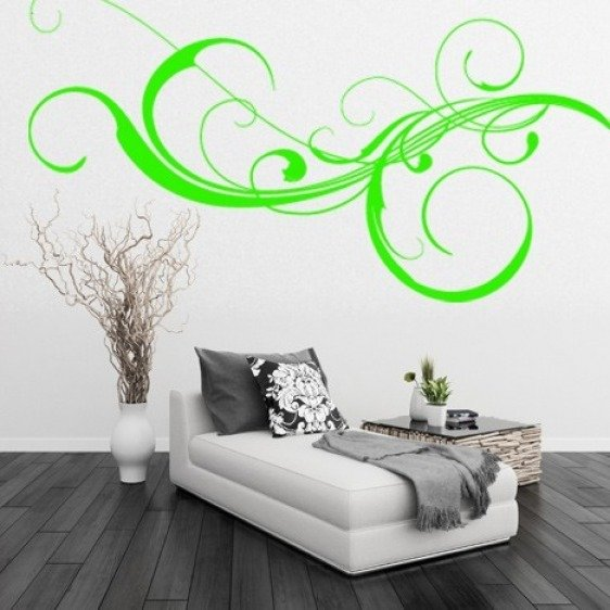 Sticker Mural Swirl