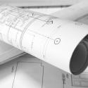 Impression plans sur mesure roulé sous tube